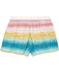 Missoni - Mare Crochet-knit Shorts - Lyst