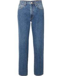 Goldsign - The Classic Fit High-rise Straight-leg Jeans - Lyst