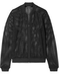 Koral - Base Stretch-mesh Bomber Jacket - Lyst