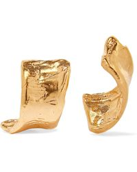 Alighieri - The Cryptic Dancer Gold-plated Earrings Gold One Size - Lyst