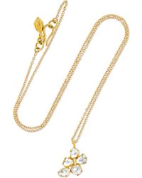 Pippa Small - 18-karat Gold Diamond Necklace - Lyst