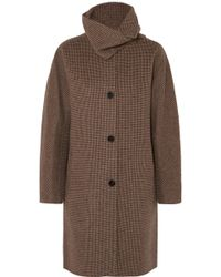 Vanessa Bruno - John Checked Wool And Cashmere-blend Coat - Lyst