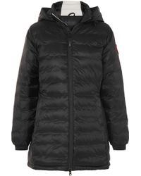 Canada Goose - Camp Hoody Black Ripstop Shell Jacket - Lyst