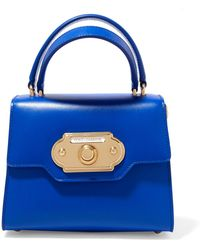 Dolce & Gabbana - Welcome Small Leather Tote - Lyst