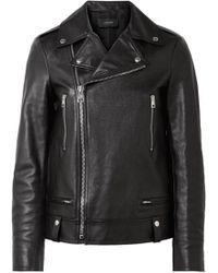 JOSEPH - Ryder Leather Biker Jacket - Lyst