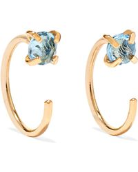 Melissa Joy Manning - 14-karat Gold Topaz Earrings - Lyst