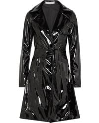 Galvan London - Trenchcoat Aus Vinyl - Lyst