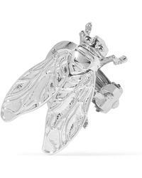 Balenciaga - Silver-tone Clip Earring - Lyst