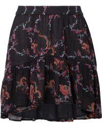 IRO - Lilie Printed Georgette Mini Skirt - Lyst