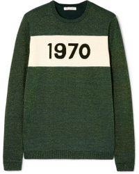 Bella Freud - 1970 Metallic Wool-blend Sweater - Lyst