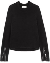 3.1 Phillip Lim - Embellished Knitted Sweater - Lyst
