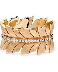 Stephen Webster - Magnipheasant 18-karat Gold Diamond Ring Gold 7 - Lyst