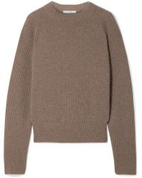 The Row - Bowie Ribbed Cashmere Sweater - Lyst