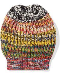 Missoni - Crochet-knit Wool-blend Beanie - Lyst
