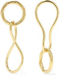 Maria Black - Elna And Alvilda Gold-plated Earrings - Lyst