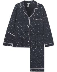 Eberjey - Printed Stretch-jersey Pyjama Set - Lyst
