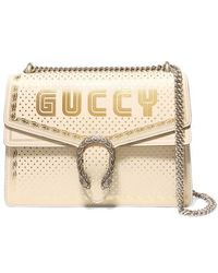 Gucci - Dionysus Guccy Sega Print Medium Shoulder Bag - Lyst