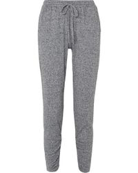 Eberjey - Bobby Camp Tapered Jersey Track Pants - Lyst