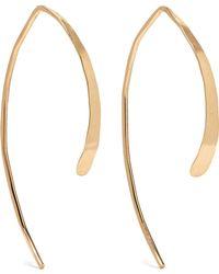 Melissa Joy Manning - Wishbone 14-karat Gold Earrings Gold One Size - Lyst