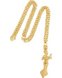 Valentino - Libra Gold-tone Necklace - Lyst