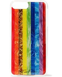 Edie Parker - + Goo. Ey Printed Coated-acrylic Iphone 6 And 7 Plus Case - Lyst