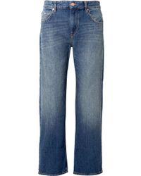 Étoile Isabel Marant - Cholko Mid-rise Straight-leg Jeans - Lyst