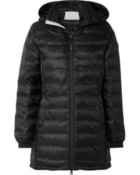 Canada Goose - Camp Hooded Quilted Shell Down Jacket - Lyst