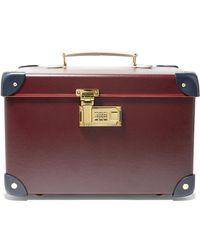 "Globe-Trotter - Goring 13"" Leather-trimmed Fiberboard Vanity Case - Lyst"
