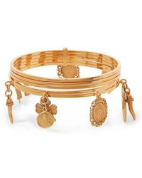 Dolce & Gabbana - Gold-tone Bangle - Lyst