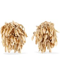 Rosantica - Stella Gold-tone Clip Earrings - Lyst