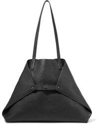 Akris - Ai Medium Textured-leather Shoulder Bag - Lyst