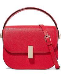 Valextra - Iside Textured-leather Shoulder Bag - Lyst
