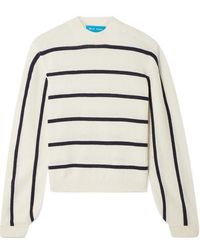 M.i.h Jeans - Ashton Striped Cashmere Jumper - Lyst