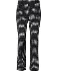 Haider Ackermann - Polka-dot Crepe Straight-leg Pants - Lyst