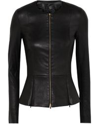 The Row - Anasta Leather Jacket - Lyst