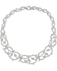 Stephen Webster - Poison Ivy 18-karat White Gold Diamond Necklace - Lyst