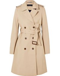 J.Crew | Dion Cotton-gabardine Trench Coat | Lyst