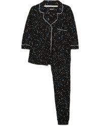 DKNY - Seeing Stars Printed Jersey Pyjama Set - Lyst