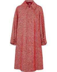Tomas Maier - Oversized Wool-blend Coat - Lyst