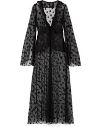Anna Sui | Shooting Star Point D'esprit Tulle Jacket | Lyst