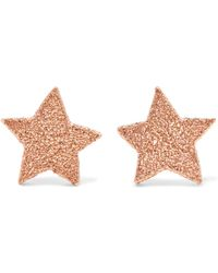 Carolina Bucci - 18-karat Rose Gold Earrings - Lyst