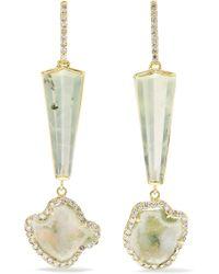 Kimberly Mcdonald - 18-karat Gold Multi-stone Earrings - Lyst