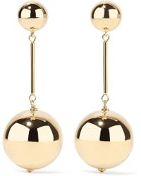 JW Anderson - Gold-plated Earrings - Lyst