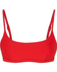 Matteau - The Crop Bikini Top - Lyst