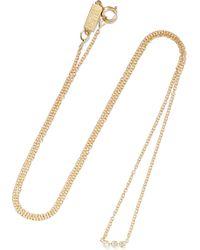Jennifer Meyer - 18-karat Gold Diamond Necklace - Lyst