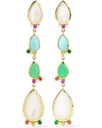Ippolita - Prisma 18-karat Gold Multi-stone Earrings - Lyst