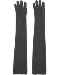 Brunello Cucinelli - Embellished Cashmere Gloves - Lyst