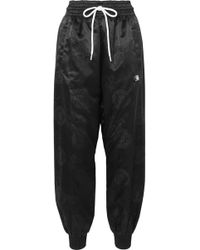 Alexander Wang - Embroidered Balloon Track Trousers - Lyst