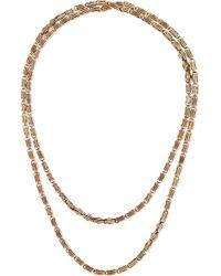 Fred Leighton   1890s 14-karat Gold Necklace   Lyst