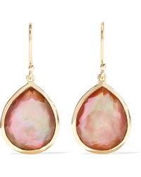 Ippolita - Rock Candy 18-karat Gold Shell Doublet Earrings - Lyst